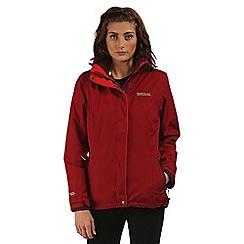 Regatta - Red Cirro 3 in 1 waterproof jacket
