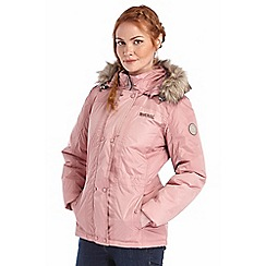 Regatta - Dusky rose loriner winter jacket