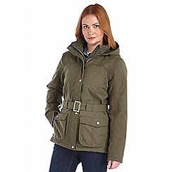 Regatta - Khaki rachelle waterproof jacket
