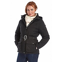 Regatta - Black rachelle waterproof jacket