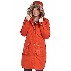 Regatta - Orange lillier waterproof jacket