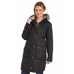 Regatta - Black lillier waterproof jacket