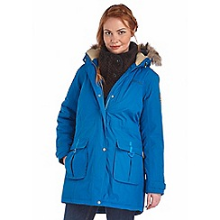 Regatta - Petrol blue paso waterproof insulated parka