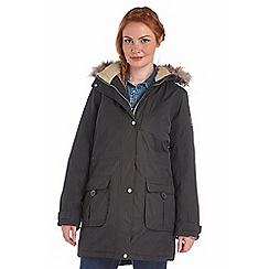 Regatta - Black paso waterproof insulated parka