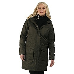 Regatta - Green Roanstar waterproof insulated coat