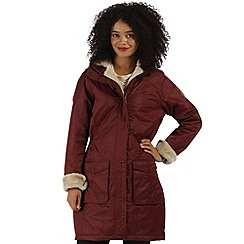 Regatta - Red Roanstar waterproof insulated coat