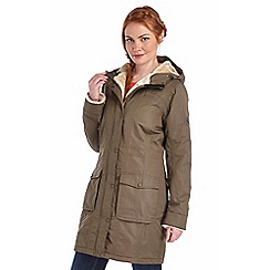 Regatta - Khaki roanstar waterproof insulated coat