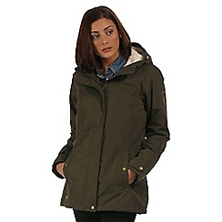 Regatta - Khaki Brodiaea waterproof jacket