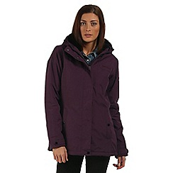 Regatta - Purple Brodiaea waterproof jacket