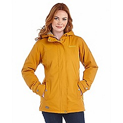 Regatta - Mustard brodiaea waterproof jacket