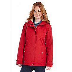 Regatta - Persian red brodiaea waterproof jacket