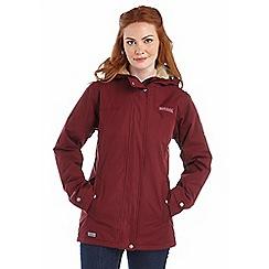 Regatta - Fig brodiaea waterproof jacket