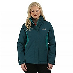 Regatta - Teal Kenzie waterproof jacket