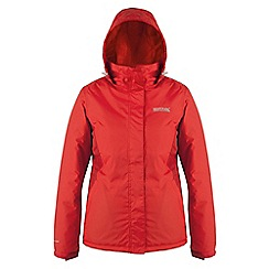 Regatta - Red kenzie waterproof jacket