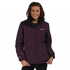 Regatta - Purple Kenzie waterproof jacket