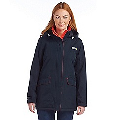 Regatta - Navy blanchet waterproof jacket