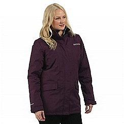 Regatta - Blkberrywine Blanchet waterproof jacket