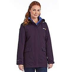 Regatta - Plum blanchet waterproof jacket