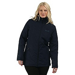 Regatta - Navy Myrtle waterproof jacket