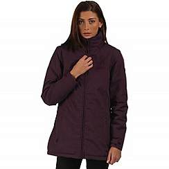 Regatta - Purple Myrtle waterproof jacket