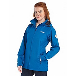 Regatta - Bright blue myrtle waterptoof jacket
