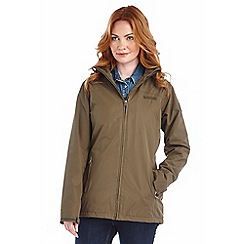 Regatta - Khaki myrtle waterptoof jacket