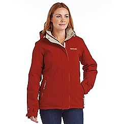 Regatta - Orange keeley waterproof jacket
