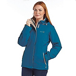 Regatta - Bright blue keeley waterproof jacket