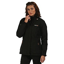 Regatta - Black Keeley waterproof jacket