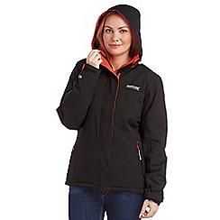 Regatta - Black keeley waterproof jacket