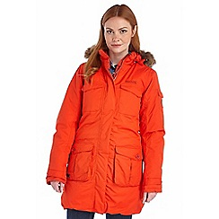 Regatta - Red snowbell waterproof parka