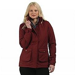 Regatta - Red Solandra waterproof jacket