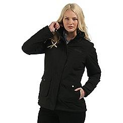 Regatta - Black Solandra waterproof jacket
