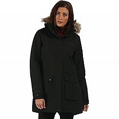 Regatta - Black Schima waterproof parka