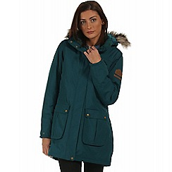 Regatta - Teal Schima waterproof parka