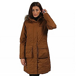 Regatta - Brown Lumexia waterproof parka