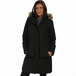 Regatta - Black Lumexia waterproof parka