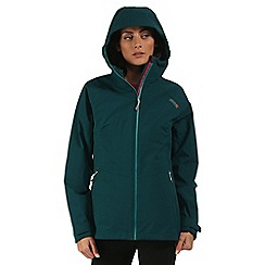 Regatta - Teal Wentwood 3 in 1 waterproof jacket