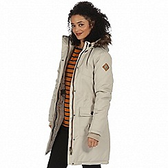 Regatta - Beige 'Saphie' waterproof parka jacket