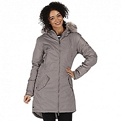 Regatta - Grey 'Lucetta' waterproof insulated jacket