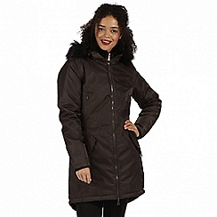 Regatta - Brown 'Lucetta' waterproof insulated jacket