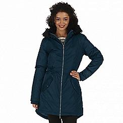 Regatta - Blue 'Lucetta' waterproof insulated jacket