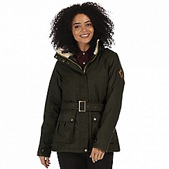 Regatta - Green 'Laurissa' waterproof insulated jacket