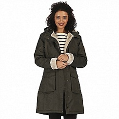 Regatta - Green 'Roanstar' waterproof parka jacket