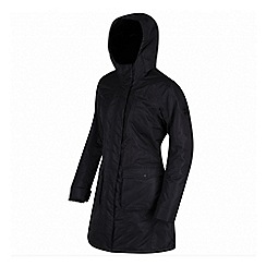 Regatta - Black 'Roanstar' waterproof parka jacket