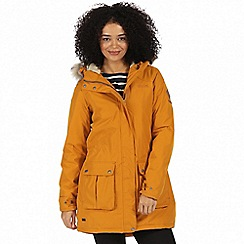 Regatta - Yellow 'Schima' waterproof parka jacket