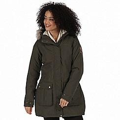 Regatta - Green 'Schima' waterproof parka jacket
