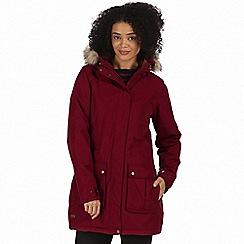 Regatta - Red 'Schima' waterproof parka jacket