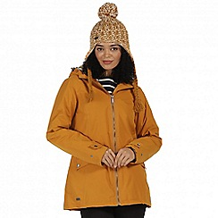 Regatta - Yellow 'Brienna' waterproof insulated jacket