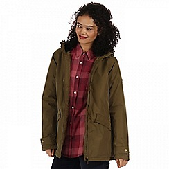 Regatta - Green 'Brienna' waterproof insulated jacket